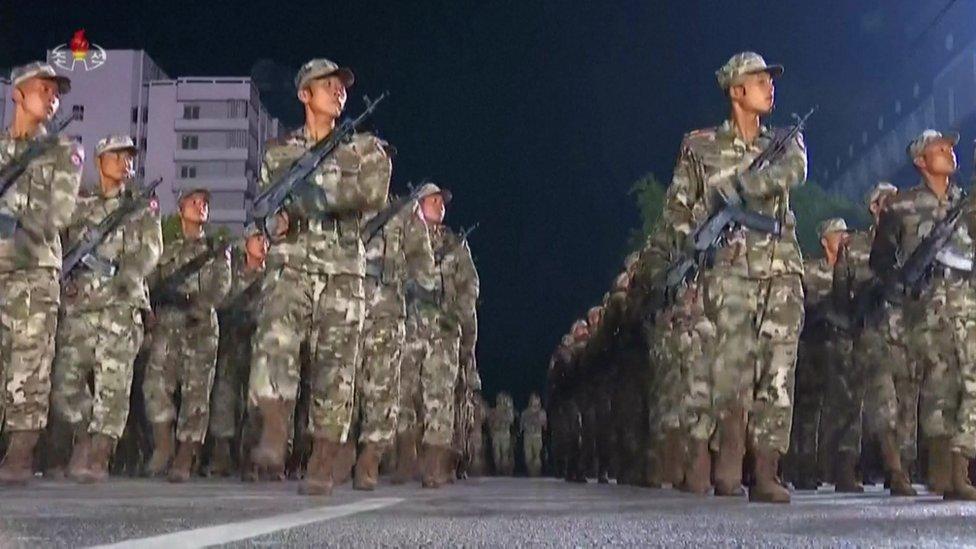 soldados norcoreanos