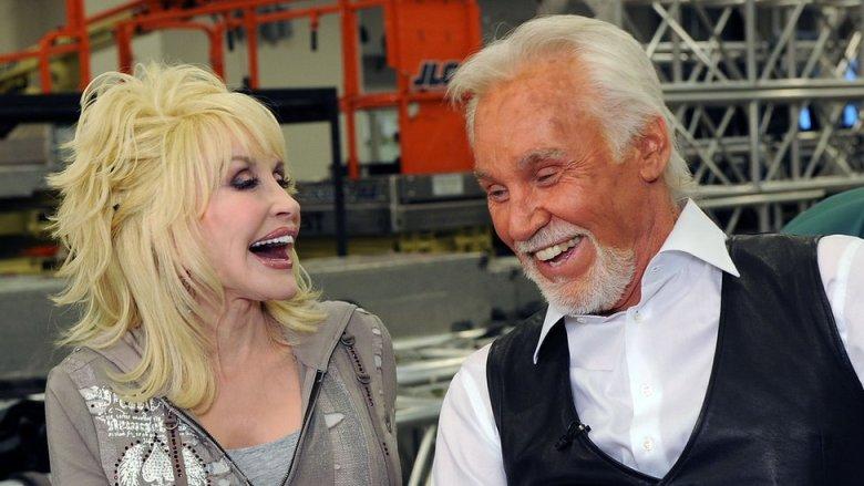 Kenny Rogers y Dolly Parton en 2010