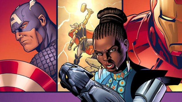 Black Panther is getting a comic book spin-off