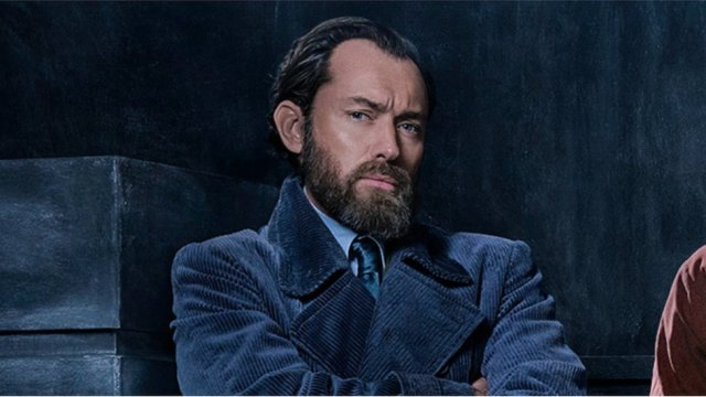 Fantastic Beasts 2: First look at Jude Law's young Dumbledore