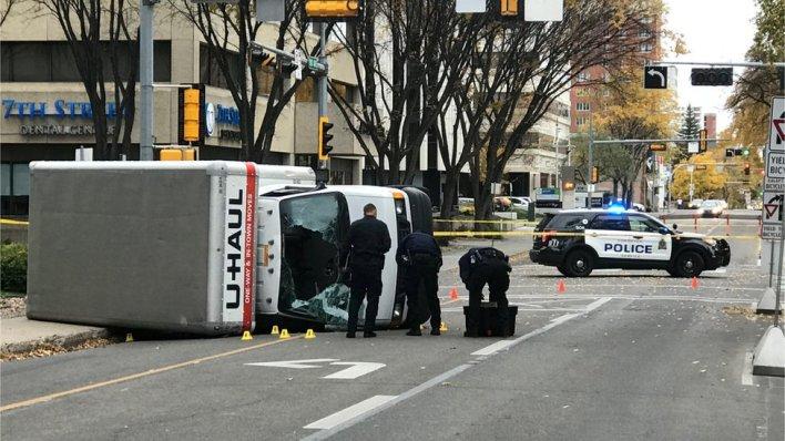 98095776 hi042121461 - Edmonton attack: Asylum-seeker arrested over 'terror' incident