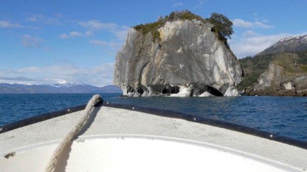 Cómo se formó la espectacular maravilla geológica de la Catedral de mármol de Chile