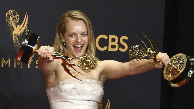 Elisabeth Moss had a secret message 'to the patriarchy' in her Emmys outfit