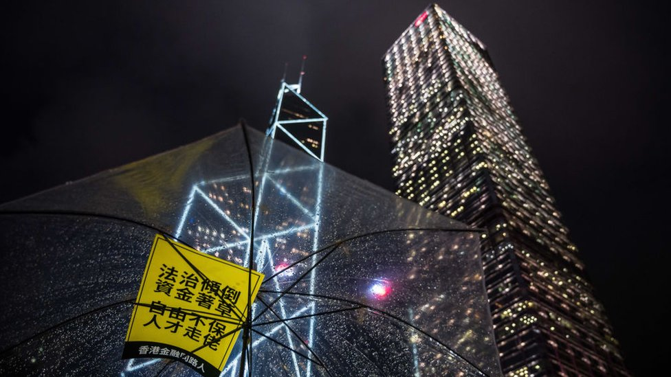 金融之都香港