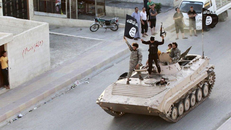 La ciudad norteña de Raqqa es la sede del autonombrado Estado Islámico.