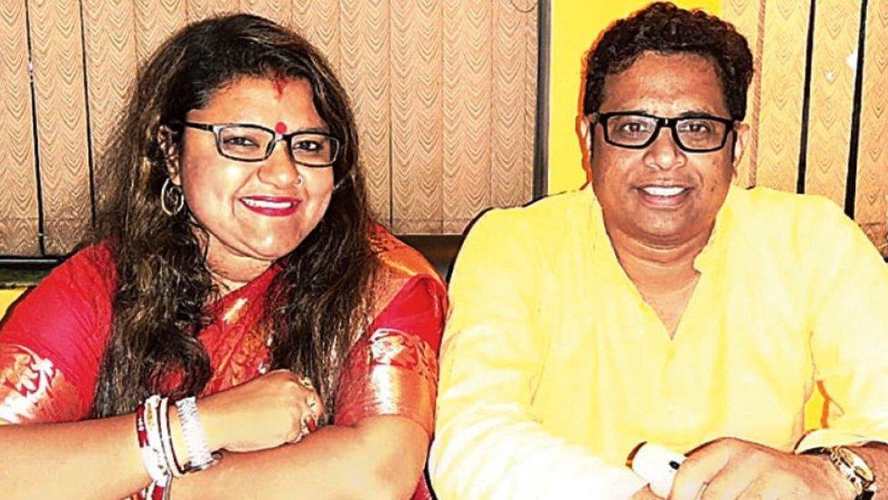 Saumitra Khan and Sujata Mondol Khan