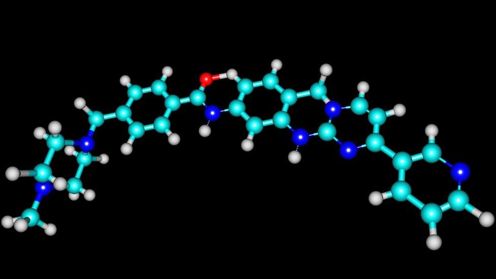 Molécula de imatinib