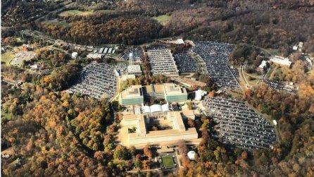 La sede de la CIA en Langley, Virginia