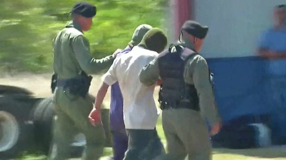 Suspects arrested at religious sect