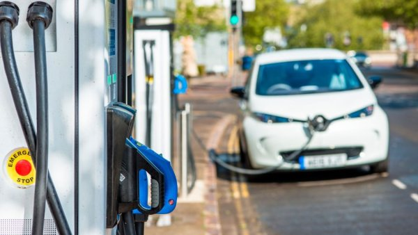 Charging stations are common in the UK, but not enough for trucks