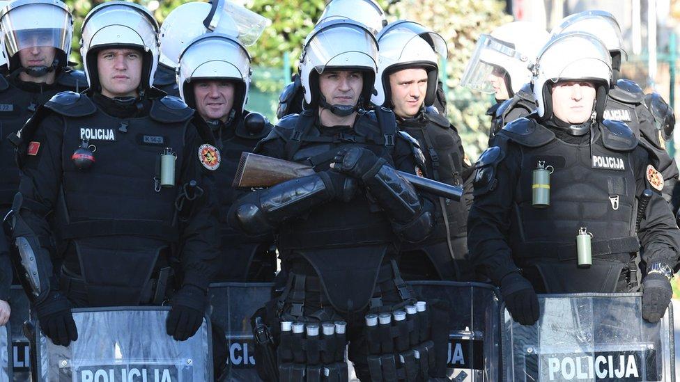 Blokada u Podgorici