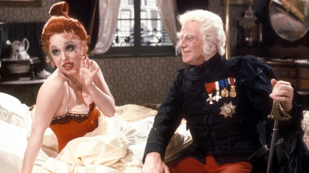 With Patrick Cargill in the BBC's The Lady From Maxims in 1973