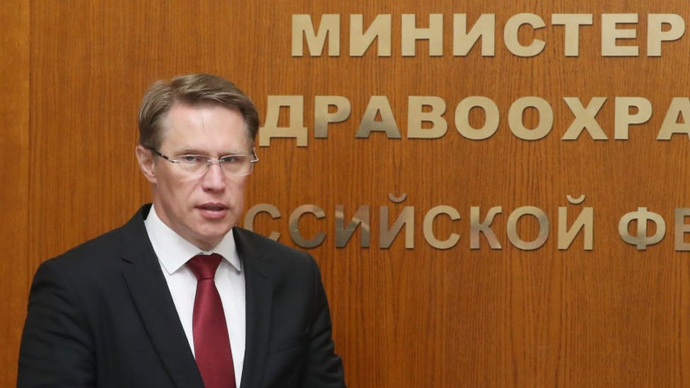 Russian Health Minister Mikhail Murashko