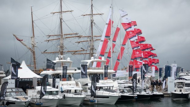 The Southampton International Boat Show in 2018