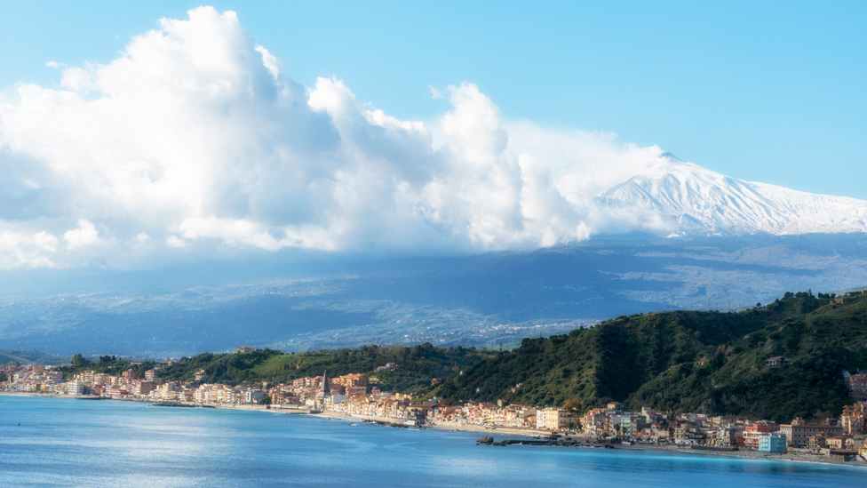 El monte Etna