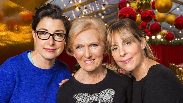 Mary Berry, Mel Giedroyc and Sue Perkins reunite for Christmas show
