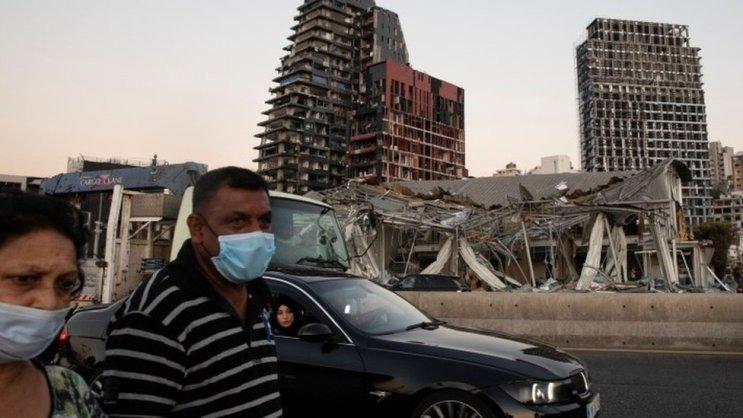 कोरोना अपडेट: विस्फोट के जख़्मों से जूझते लेबनान में वायरस का कहर, लगाया गया दो सप्ताह का लॉकडाउन - BBC Hindi
