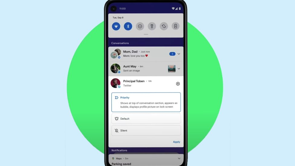 Android Conversations feature