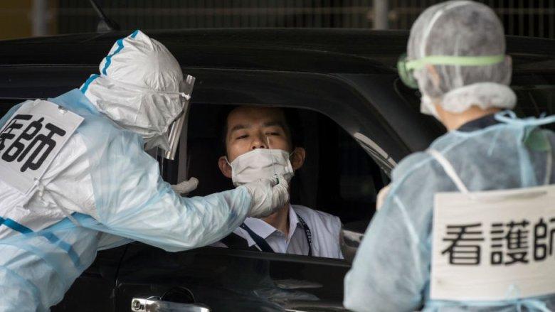 Pruenas de PCR en Japón.