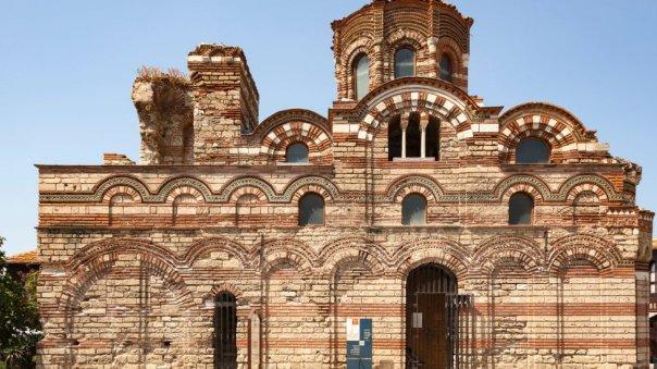Ruinas bizantinas en Nessebar.