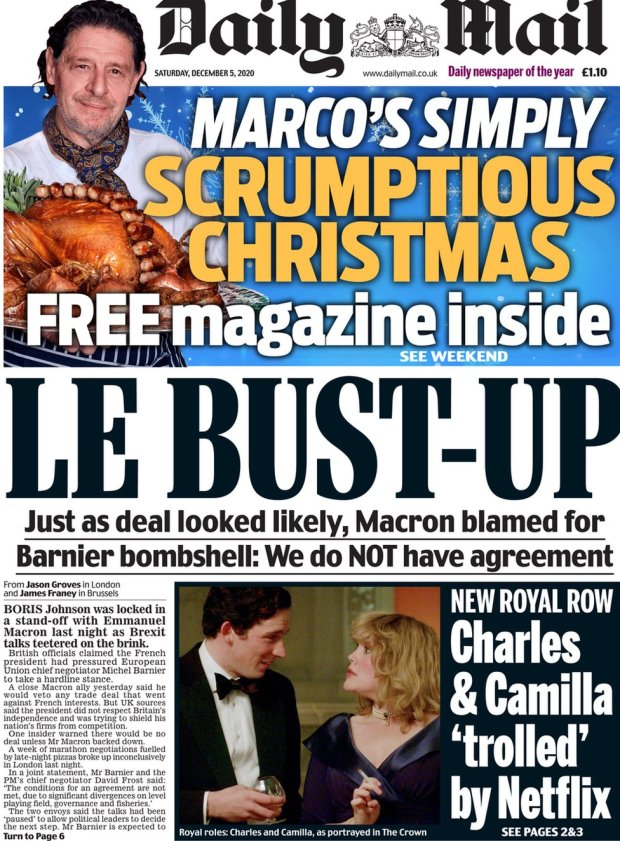 The Daily Mail 5 December
