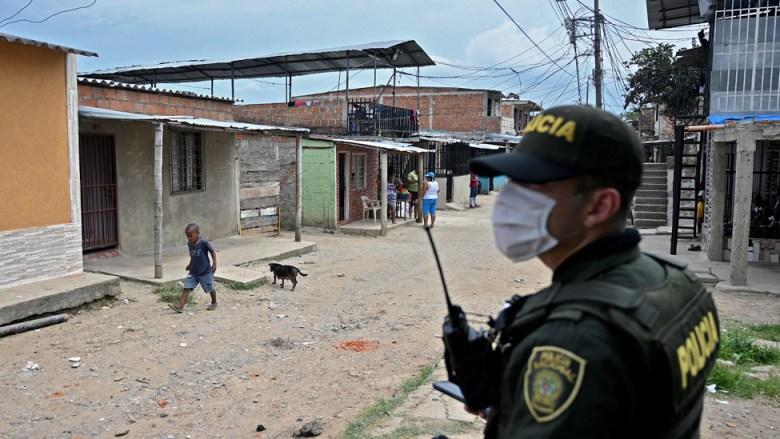 Policia en Colombia