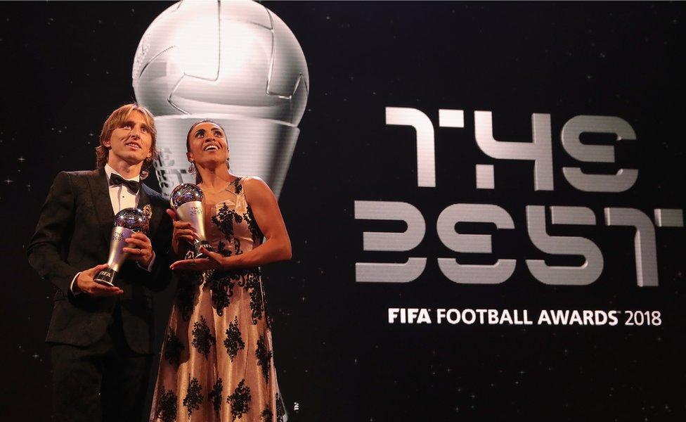 Premios The Best.