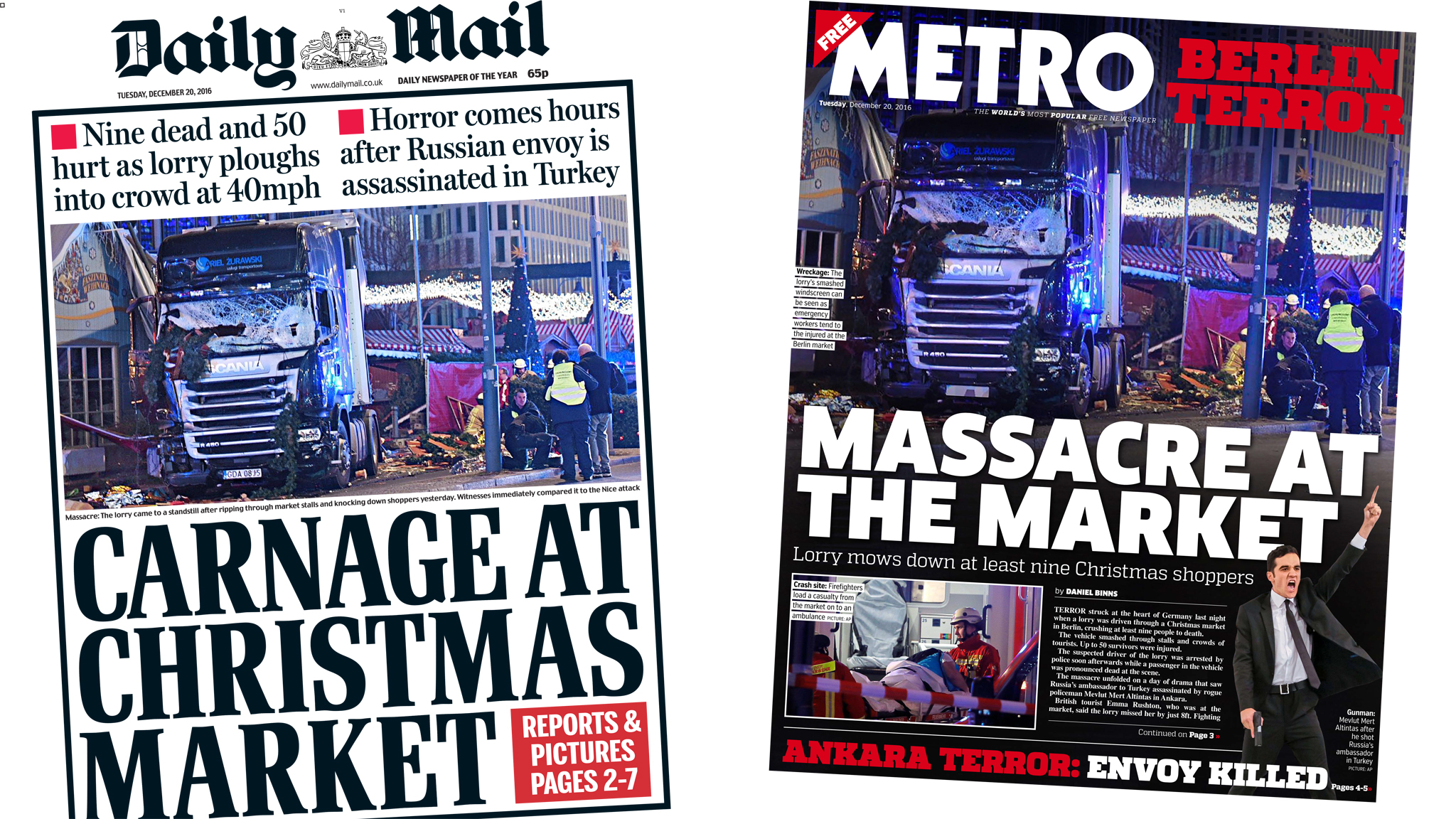 Image result for berlin bloodbath daily mirror