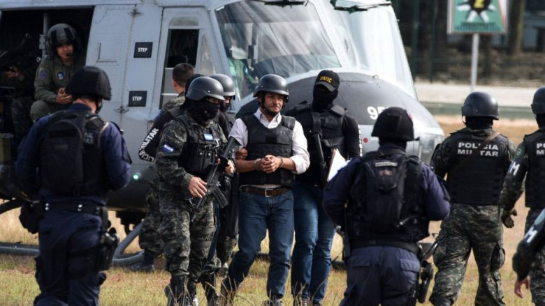 Una detención de un capo de los Valle en honduras