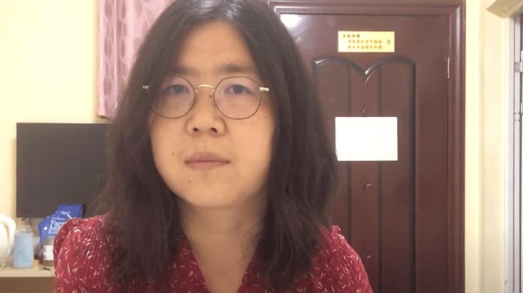 झांग झान को वुहान में रिपोर्टिंग के लिए हिरासत में लिया गया था