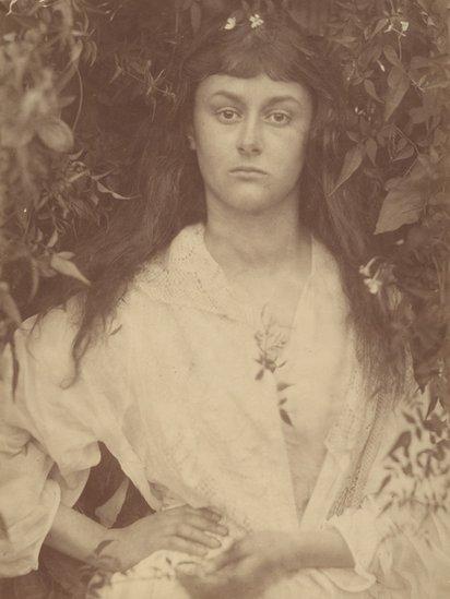 Alice Liddell en su juventud