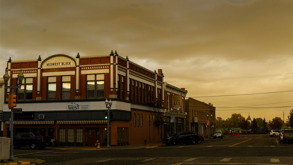 El centro de Laramie