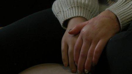 Las manos de Margarita Gracheva.