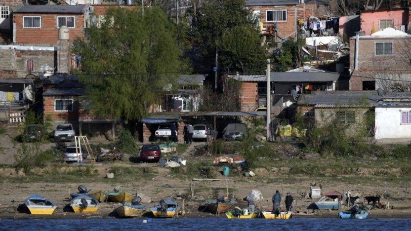 120409729 gettyimages 1234968166 - Las impactantes imágenes de la mayor sequía en 77 años del río Paraná, el segundo más largo de Sudamérica