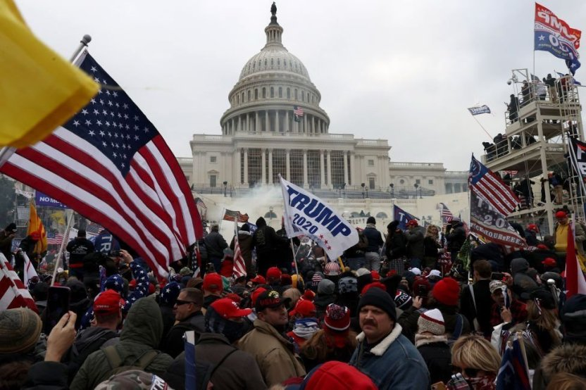 """116383469 9d1dbb69 0387 4ec6 b97d 35d3fa6fdad7 - Asalto al Capitolio: la reacción mundial a las """"escenas vergonzosas"""" en Washington"""