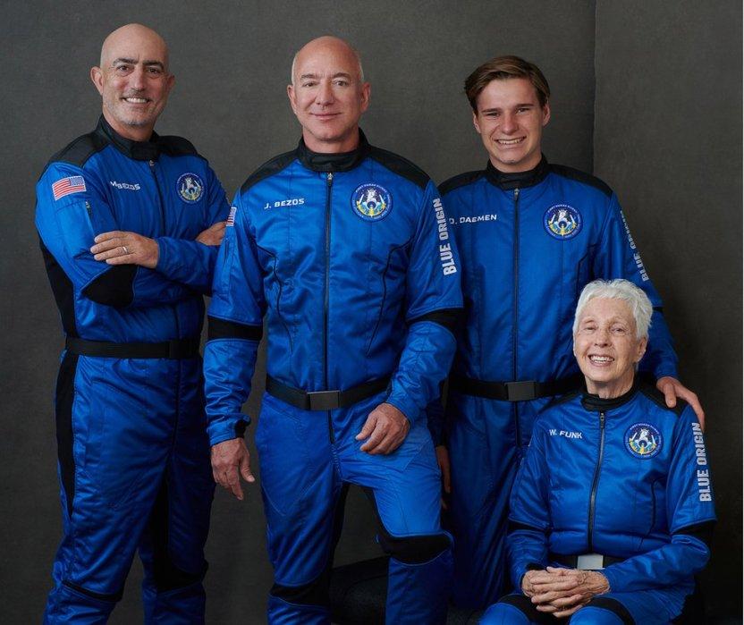 119494569 e6swj4jxsaaxfhk - Wally Funk, la aviadora de 82 años que cumplió su sueño al volar con Blue Origin al espacio