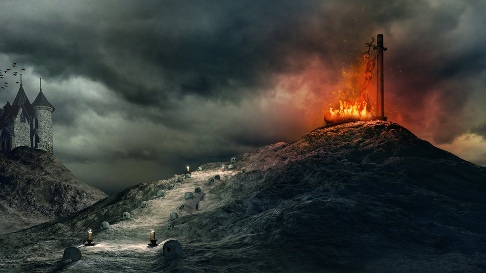 La máxima condena de la Inquisición era la quema pública en la hoguera.