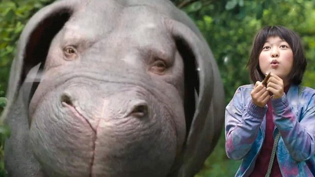 Giant pig movie Okja in Netflix and cinema controversy