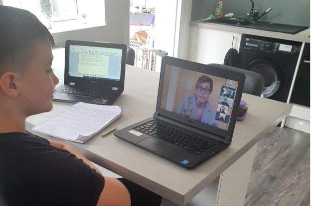 Teacher video message