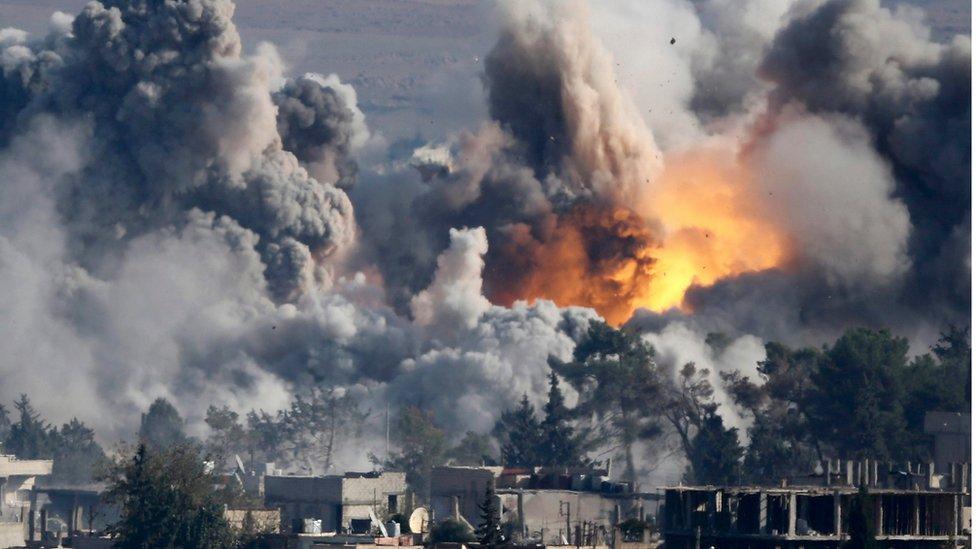 Una coalición dirigida por Estados Unidos ha estado conduciendo incursiones aéreas contra Estado Islámico desde 2014.