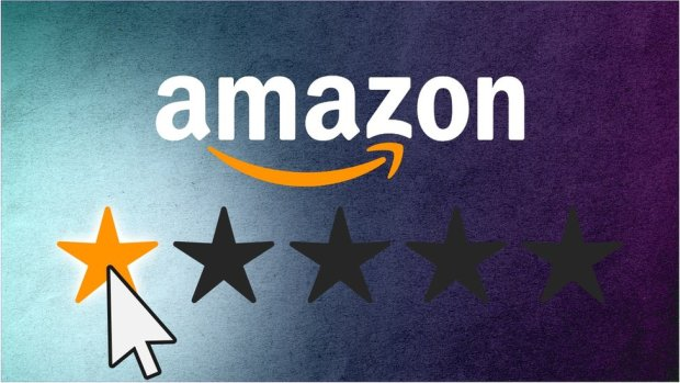 Amazon one-star graphic