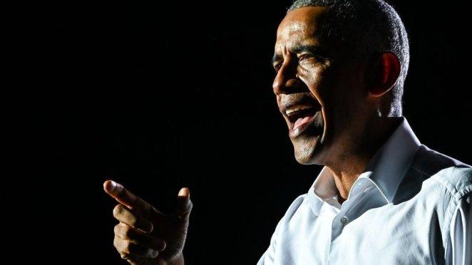 Former US President Barack Obama - 2 November 2020