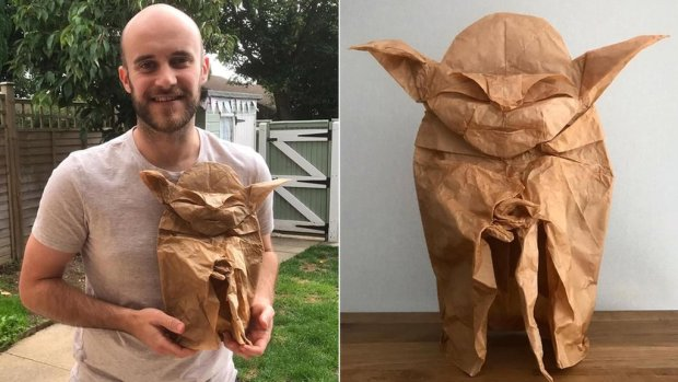 Alexander and origami Yoda