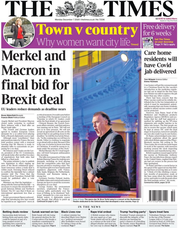 The Times 7 December