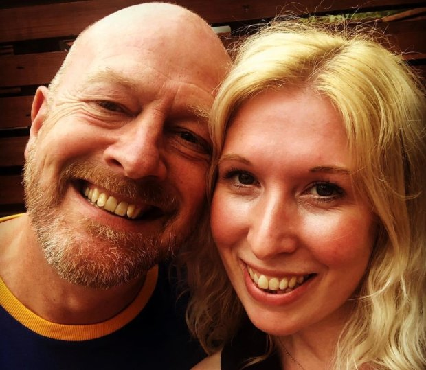 Ian Arrowsmith and Gemma Peake