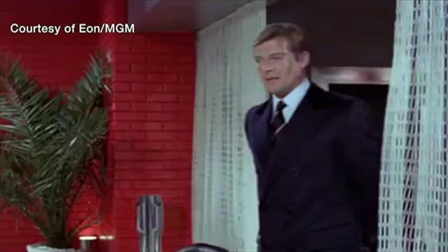 Sir Roger Moore's most famous moments as Bond
