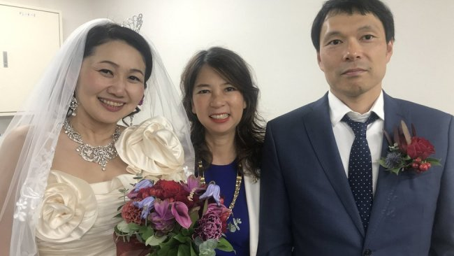 Cheiko Mitsui, Cheiko Date and Cheiko Mitsui