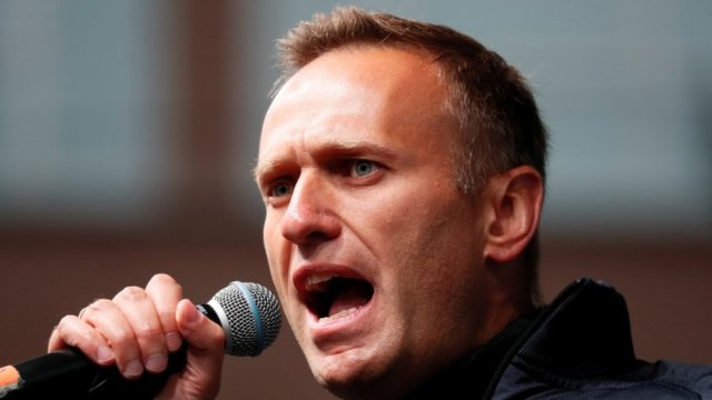 Alexei Navalny was flown to Berlin for treatment in August after falling ill on a plane