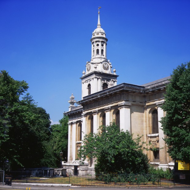 St Alfege's church in Greenwich