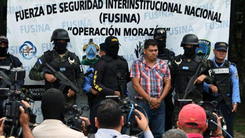 Arístides Díaz en su detenciín